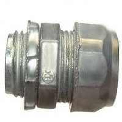 "EMT Conduit, 3/4"", Compression Connector"