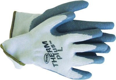 Gloves, Ergonomic, Stretchable, Unlined Glove, Large