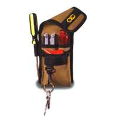 Custom Leather Model 1104 Tool Pouch, 4 Pocket, Multi-Purpose