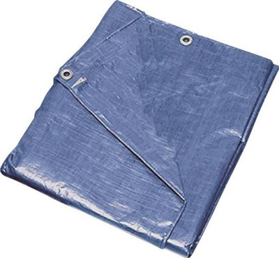 Tarpaulin, 10' x 12', Medium Duty, Blue