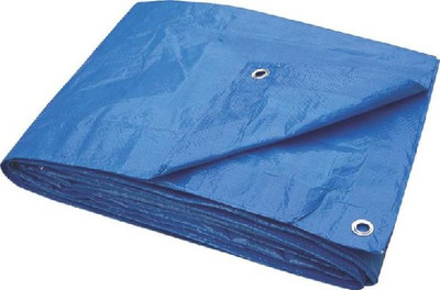 Tarpaulin,  8' x 10', Light Duty, Blue