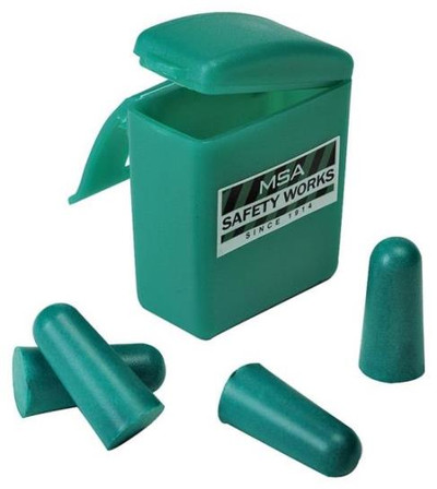 Ear Plugs, 32 dB, 2 Sets With Carrying Case