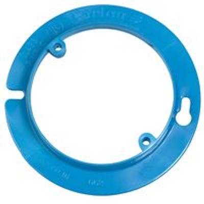 "Round Box Cover Ring, 4"" x 1/2"", PVC"