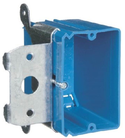 1 Gang Switch Box PVC Adjustable Depth