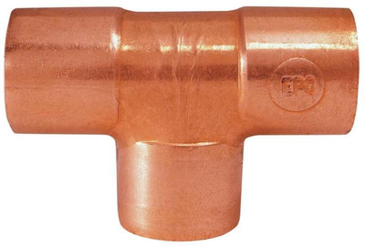"Copper Fitting, 1/2"", CXC, Tee"