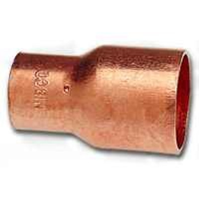 "Copper Fitting, 3/4"", CXC, Coupling x 1/2"" CXC"