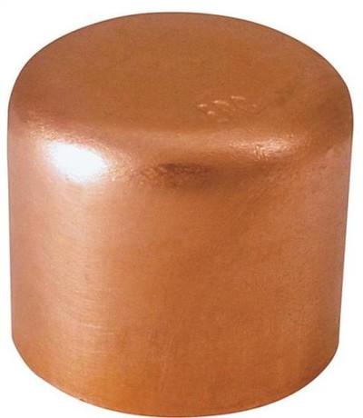 """Copper Fitting, 1/2"""", CXC, Cap"""