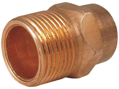 "Copper Fitting, 1/2"", CXM, Adapter"