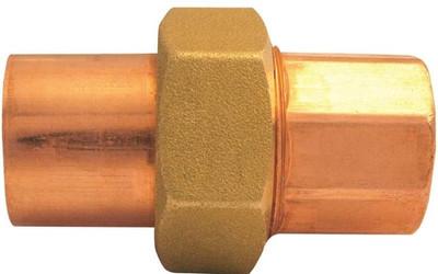 """Copper Fitting, 1-1/4"""", CXC, Union"""