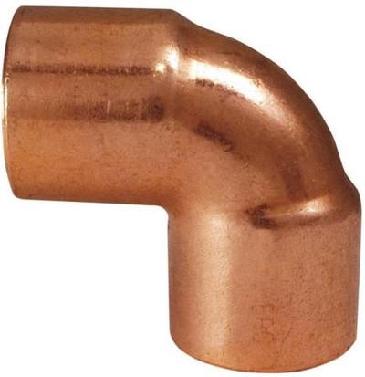 "Copper Fitting, 1/2"", CXC, Elbow, 90 Deg"