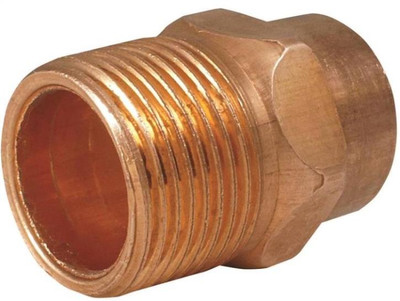 "Copper Fitting, 1"", CXM, Adapter"
