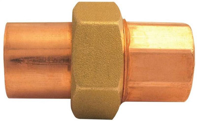 "Copper Fitting, 2"", CXC, Union"