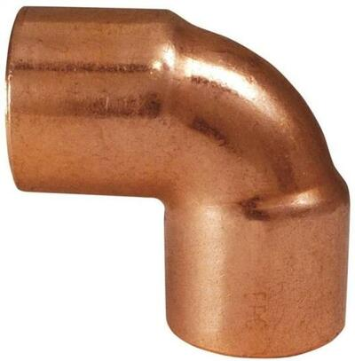 "Copper Fitting, 1"", CXC, Elbow, 90 Deg"