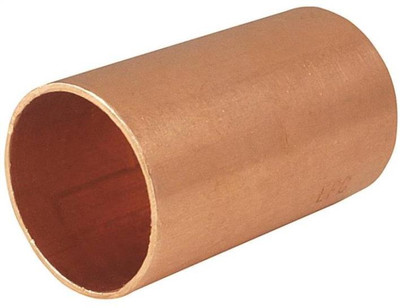 "Copper Fitting, 1-1/4"", CXC, Coupling"