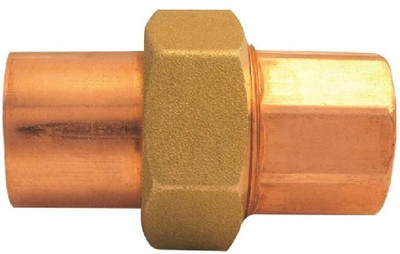 "Copper Fitting, 3/4"", CXC, Union"