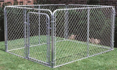 Dog Kennel, 10' x 10' x 6'
