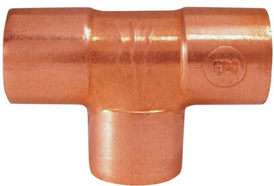 "Copper Fitting, 1-1/4"", CXC, Tee"