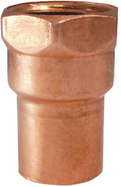 "Copper Fitting, 1-1/4"", CXF, Adapter"