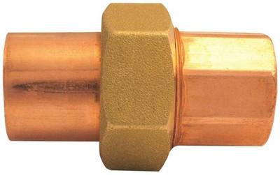 """Copper Fitting, 1-1/2"""", CXC, Union"""