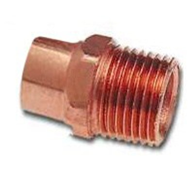 "Copper Fitting, 1-1/2"", CXM, Adapeter"