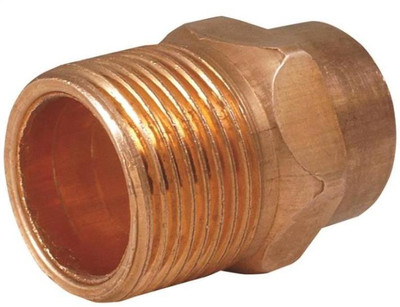 "Copper Fitting, 1-1/4"", CXM, Adapter"