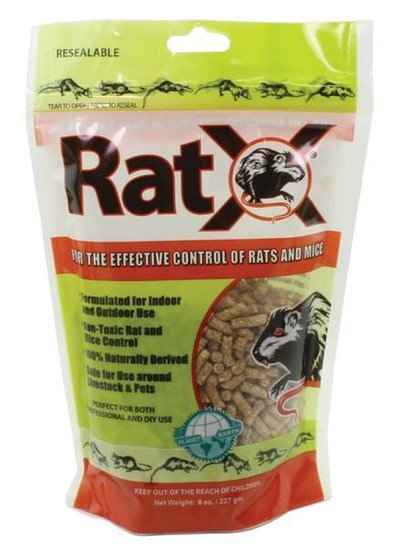 Rat X, 8 Oz, All Natural, Pellets