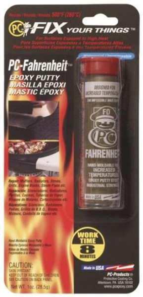 PC-Fahrenheit Epoxy, 500 Deg Rating, 1 Oz