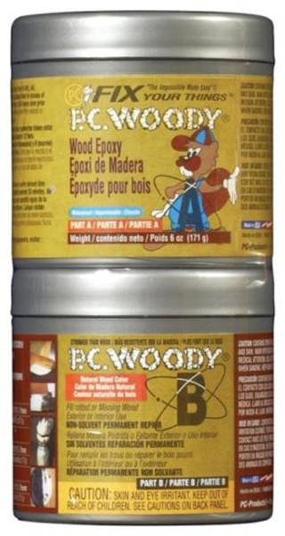 PC-Woody, Wood Epoxy Paste, 6 Oz