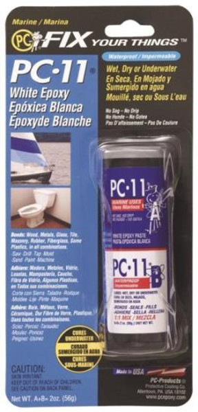 PC-11 Epoxy Paste, 2 Oz, Off White Color