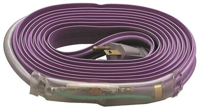 Water Pipe Electric Freeze Protection Cable, 24'