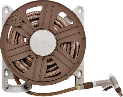 "Hose Reel, Wall Mount 18"", Poly"