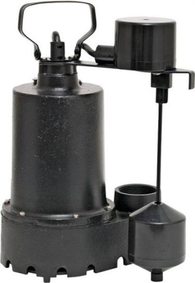 Sump Pump 1/3 Hp W/Switch