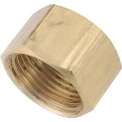 "Compression Fittings, 3/8"", Cap, Brass"