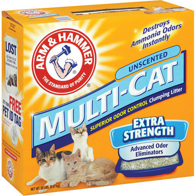 Arm & Hammer, Cat Litter, Double Duty, 14 Lb