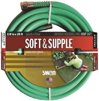 "Garden Hose, 5/8"" x  25', Soft & Supple"
