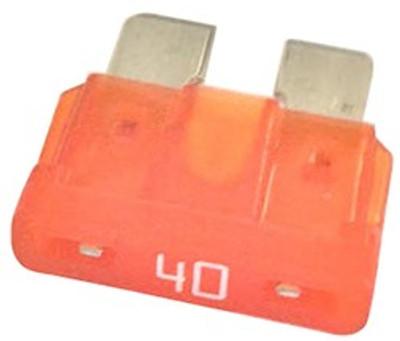 ATC-40, Auto Fuse, 40 Amp, Orange