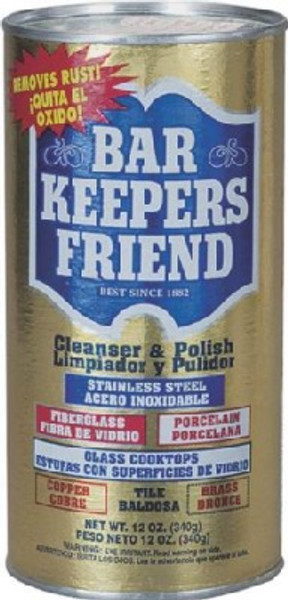 Bar Keepers Friend Model 11510, Cleaner & Polish, 12 Oz