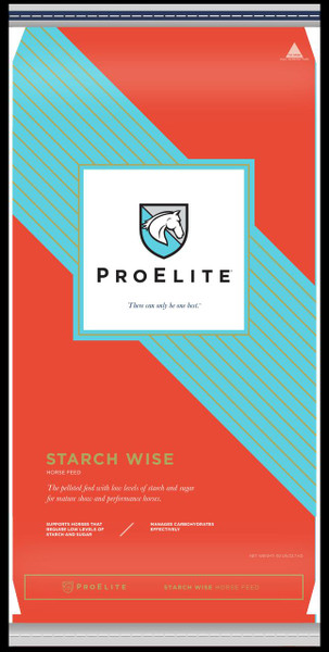 ProElite, Starch Wise, Equine Feed, 13% Pellet, 50 Lb