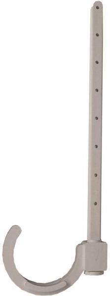 """PVC DWV, 2"""", Pipe Hanger, 4 Pack"""