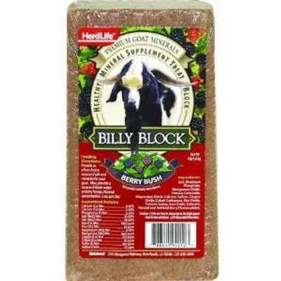 Billy Goat Berry Bush Salt Block 4 Lb