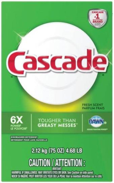 Cascade Dishwasher Detergent 75 Oz
