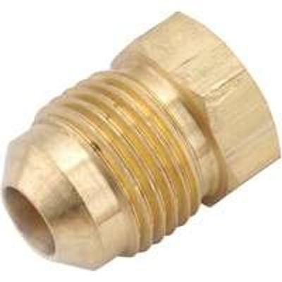 "Flare Fittings, 1/2"", Plug, Brass"