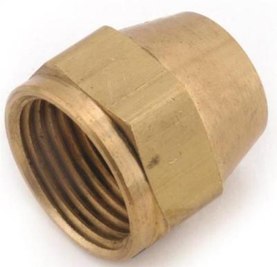 "Flare Fittings, 3/8"", Nut, Short, Brass"