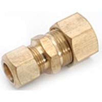 "Compression Fittings, 5/8"", Union x 1/2"", Brass"