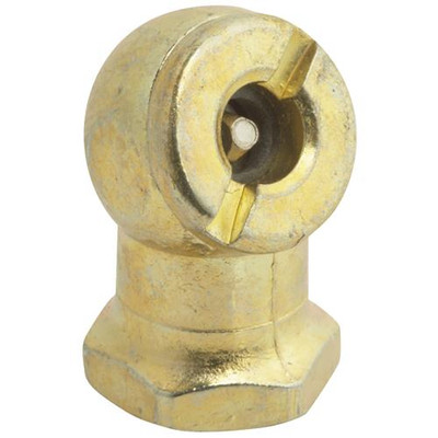 "Air Line, Ball Foot Air Chuck, 1/4"", FPT. Brass"