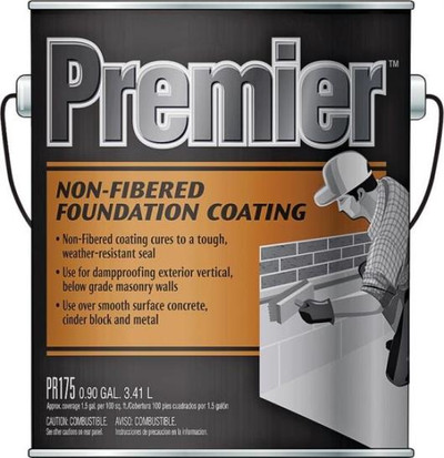 Henry, Unfibered Foundation Coating 1 Gal