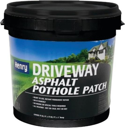 Henry, Blacktop Pothole Patch, Gallon