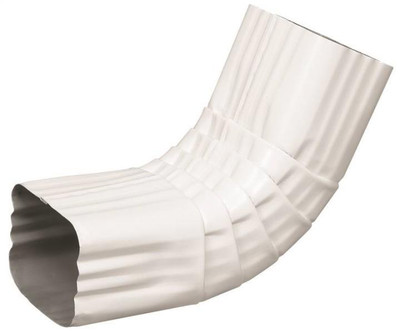 "Downspout ""A"" Elbow 2"" X 3"" White"