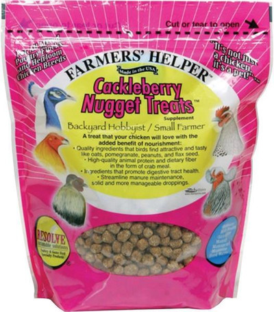 Farmer's Helper Crackleberry Poultry Treats 27 Oz