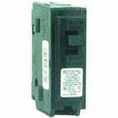 Square D, HOM115CP, HOMELINE, 15 Amp 1 Pole Circuit Breaker
